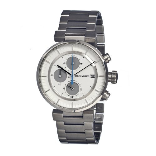 Issey Miyake ISSSILAY007 Montre bracelet Homme, Acier inoxydable, couleur: argent