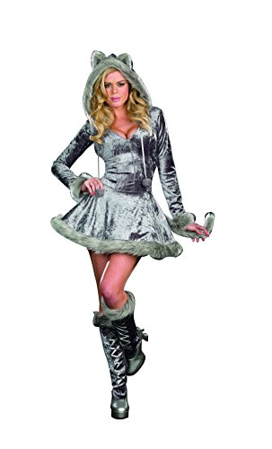 Dreamgirl Women's Furry Big Bad Sexy Wolf Costume