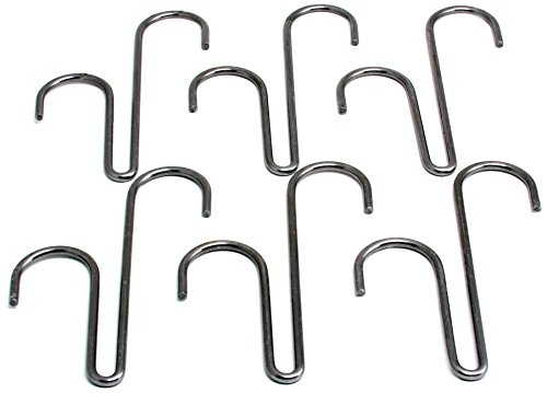Enclume Basket Hook, Set of 6, Use with Pot Racks, Hammered Steel