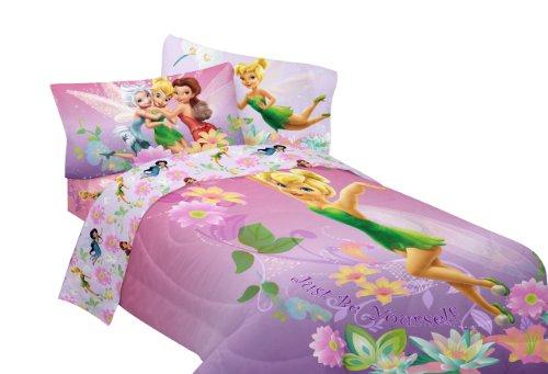 disney fairies be yourself sheet set twin