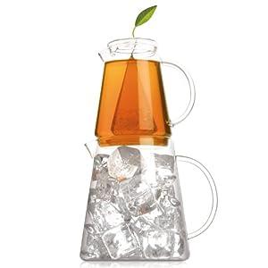 Tea Forte Tea-Over-Ice, Iced Tea Brewing Pitchers from Tea Forte