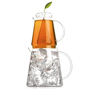 Tea Forte Tea-Over-Ice, Iced Tea Brewing Pitchers
