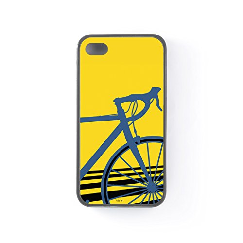 bicycle-black-silicon-case-for-iphone-4-4s-by-bje-art-free-crystal-clear-screen-protector