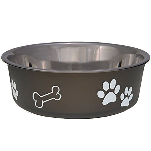 loving-pets-bella-bowl-dog-bowl-small-espresso