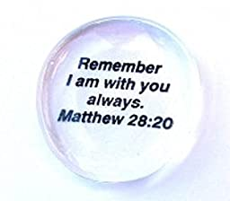 Prayer Of Jabez Colored Glass Imprinted Christian Scripture Stones - Sayings