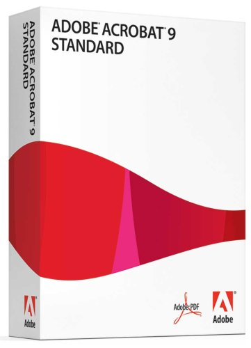 Adobe Acrobat Standard 9 (vf) [OLD VERSION]