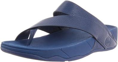 FitFlop Men's Sling Sandal,Diving Blue,10 M US