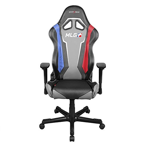 DXRacer-Racing-Series-OHRE112MLG-Major-League-Gaming-Racing-Bucket-Seat-Office-Chair-Gaming-Chair-Ergonomic-Computer-Chair-Desk-Chair-Executive-Chair-With-Pillows