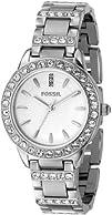 Fossil Womens ES2362 Stainless Steel Bracelet Silver Glitz