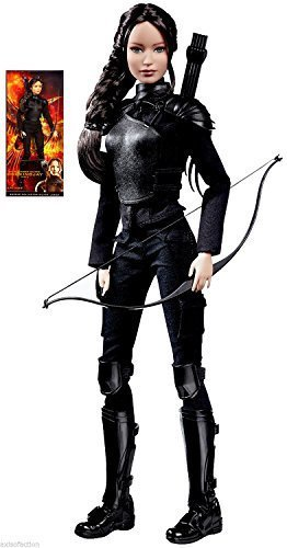 Barbie-Collector-Black-Label-The-Hunger-Games-Mockingjay-Part-2-Katniss-NIP-2015-by-Mattel
