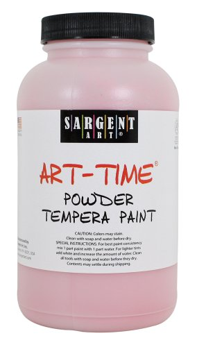 Sargent Art 22-7120 1-Pound Art Time Powder Tempera, Red