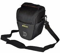 TechCare Tm Ultra Light Camera Case Bag for Nikon Df, Nikon D610, Nikon D750, Nikon D810, Nikon 3100, Nikon 3200, Nikon D3300, Nikon 5100, Nikon 5200, Nikon D5300, Nikon D5500, Nikon D7000, Nikon D7100 cameras (BLACK)