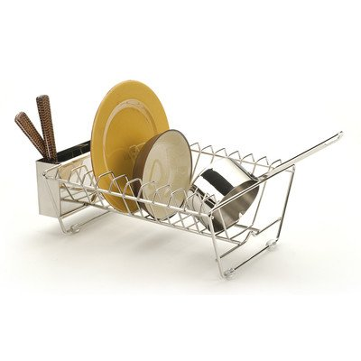 RSVP Endurance Stainless Steel In-Sink Dish Drying Rack (In Sink Dish Rack Small compare prices)