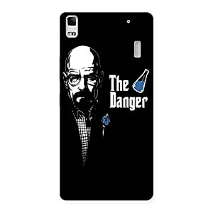 Ajay Enterprises Extant The Danger Man Back Case Cover for Lenovo A7000