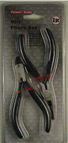 Power Tools Plier / Wire Cutter 2 Pc Mini Plier Set