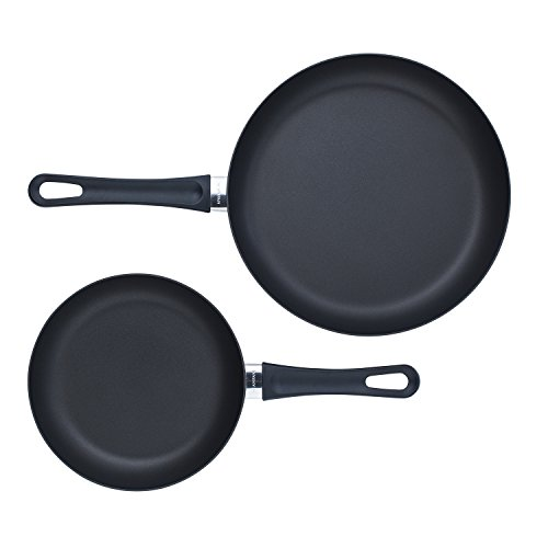 Scanpan Classic 2 Piece Fry Pan Set, Black (Scanpan Classic compare prices)