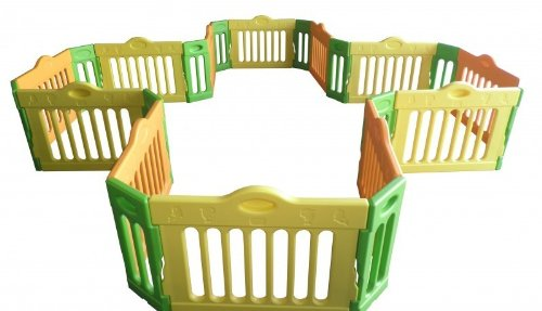 BABY VIVO 12-SIDE PLAYPEN - EXPANDABLE
