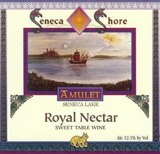 "Nv Seneca Shore Wine Cellars ""Royal Nectar"", Seneca Lake, Native Sweet White Wine Blend, 750 Ml"