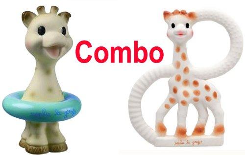 Imagen de Sophie The Vanilla Giraffe dentición Ring - Plus Vulli Sophie la jirafa Bath Toy - Viene en cajas de r<br>Traducción automática                         </p>                     </div>                 </div>             </div>               <div class=