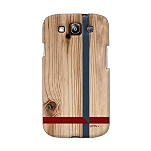 Gobzu Printed Back Covers for Samsung Galaxy S3 Neo - Wooden Crossroads