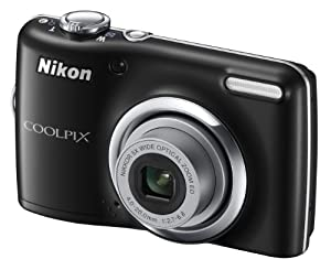 Nikon Coolpix L23 Digital Camera - Black (10MP, 5x Optical Zoom) 2.7-inch LCD (discontinued by manufacturer)