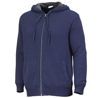 哥伦比亚Columbia Rotifer男士软羊毛连帽开衫毛衣灰 折后$38.27