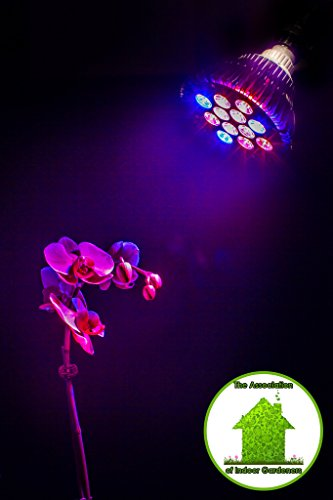 LED Grow Light, Indoor Greenhouse Gardening Hydroponic Spectrum Lights help Fruits, Vegetables, Medical Plants & Herbs to Start Growing Like a Weed The Grow Buddy Kindly Offers a Lifetime Guarantee