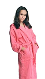 Terry Cloth Robe for Boys and Girls, Hooded, 100% Cotton