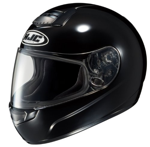 HJC CS-R1 Full Face Motorcycle Helmet Black Large L 190-604