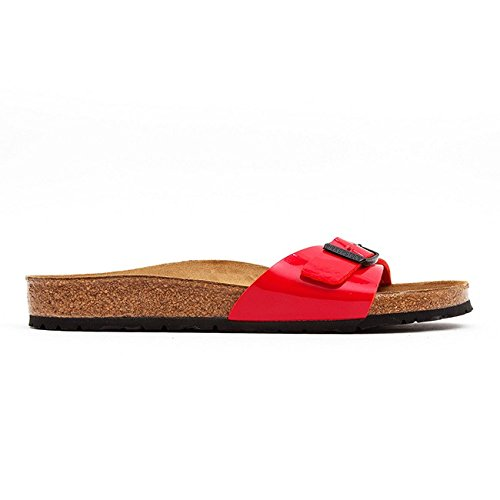 Papillio Madrid Dreamland Rose - Sandali, Red Patent, taglia 37