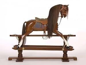 Stevenson Brothers' Mahogany Rocking Horse