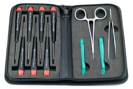 with Case NewerTech 14-Piece Portable Toolkit for Computers and Electronics