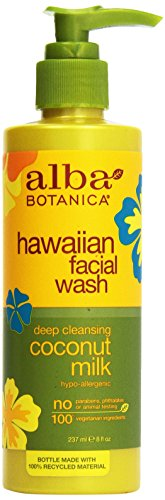 Alba Botanica Coconut Milk Facial Wash (1X8Oz)