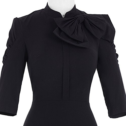 Belle Poque Women 50s Bodycon Dress Slim Vintage Pencil Dress BP106/146 5