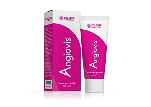 Angiovis crema gel 200 ml Gambe e caviglie gonfie Gambe Stanche Gambe Pesanti Insufficienza Venosa Polaris Farmaceutici
