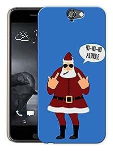 """Humor Gang Ho Ho Ho Adult Santa Printed Designer Mobile Back Cover For """"HTC ONE A9"""" (3D, Matte, Premium Quality Snap On Case)"""