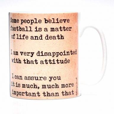 Bill Shankly & Liverpool Legend Mug