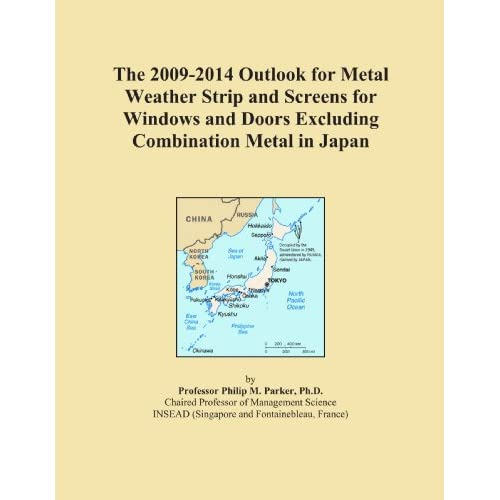 The 2009-2014 World Outlook for Metal Weather Strip and Screens for Windows and Doors Excluding Combination Metal Icon Group
