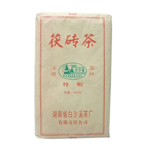 Organic Fu Brick Tea Chinese Dark Tea Bai Sha Xi 800G China Tea