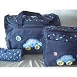 Cute as a button baby changing bag set