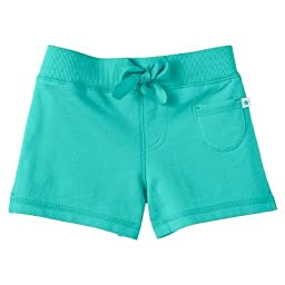 Carter\'s Girls French Terry Pull-on Shorts 3M-24M) (24 Months, Turquoise)