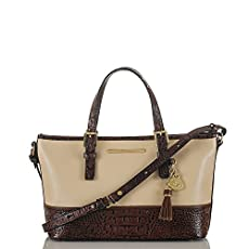 Mini Asher Tote<br>Ivory Summer Tuscan Tri-Texture