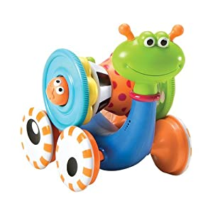 Yookidoo Crawl N' Go Snail LIST $29 99 NOW $17 76 +Prime