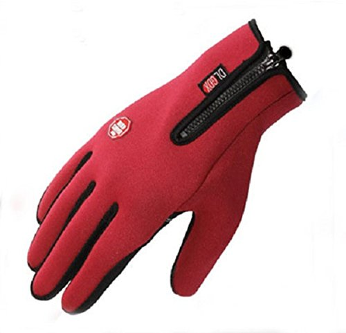 global-tesco-touch-screen-windproof-outdoor-sport-gloves-for-men-women-army-winter-gloves-red-l