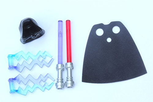 LEGO® Star Wars Accessory / Weapon Pack #1 - Lightsabers & Cape by LEGO