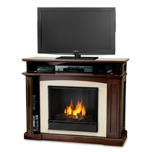 Real Flame 3710-DW Rutherford Ventless Gel Fireplace