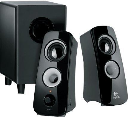 Logitech Z323 2.1 Channel Speaker System, 360-Degree Sound, W/ Subwoo