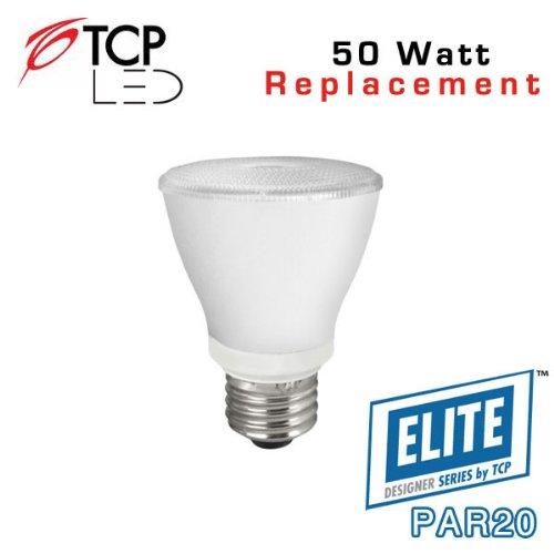 Tcp Led10P20D41Kfl - 10 Watt - Par20 - Dimmable - Medium Base - 25,000 Hour - 4100 Kelvin - Flood - Led Light Bulb