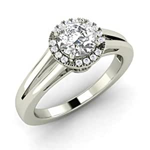 Buy Caitali 925 Sterling Silver Women Wedding Engagement Ring Online At Low P
