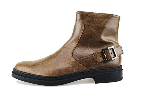TOD'S stivaletti uomo marrone pelle AG115 (42,5 EU)